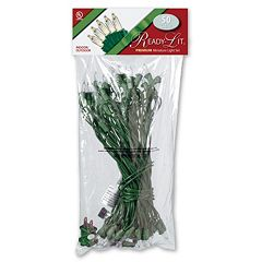 National Tree Company 50 Light Clear Christmas Lights