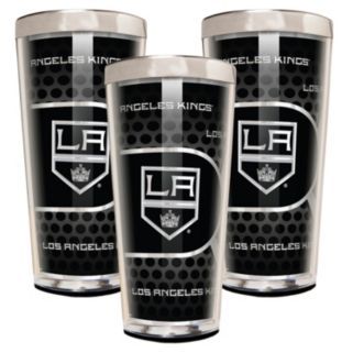Los Angeles Kings 3-Piece Shot Glass Set