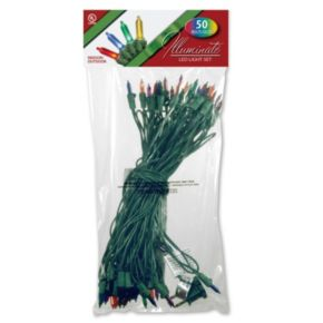 National Tree Company 50-Light Multicolored Christmas Lights