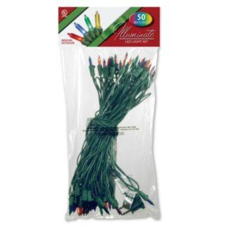National Tree Company 50-Light Multicolored Christmas Lights