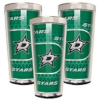 Dallas Stars 3 pc Shot Glass Set