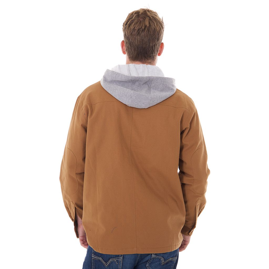 Big & Tall Dickies Mock-Layer Hooded Jacket