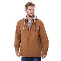 Big & Tall Dickies Mock-Layer Hooded Jacket