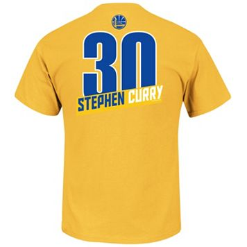 Men's Majestic Golden State Warriors Stephen Curry Record Holder Tee