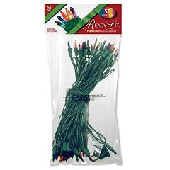 National Tree Company 50 Light Multicolored Christmas Lights