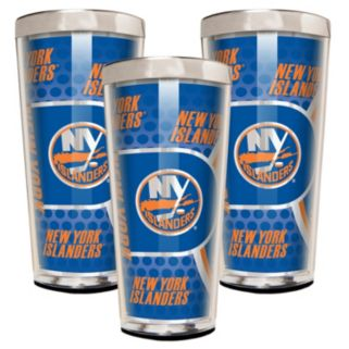 New York Islanders 3-Piece Shot Glass Set