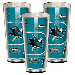 San Jose Sharks 3-Piece Shot Glass Set