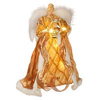 National Tree Company 16 in Pre-Lit Glitter Angel Christmas Tree Topper