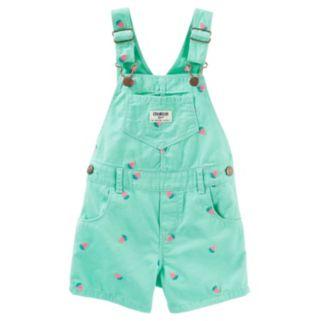 Toddler Girl OshKosh B'gosh® Strawberry Shortalls