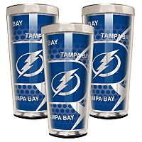 Tampa Bay Lightning 3 pc Shot Glass Set