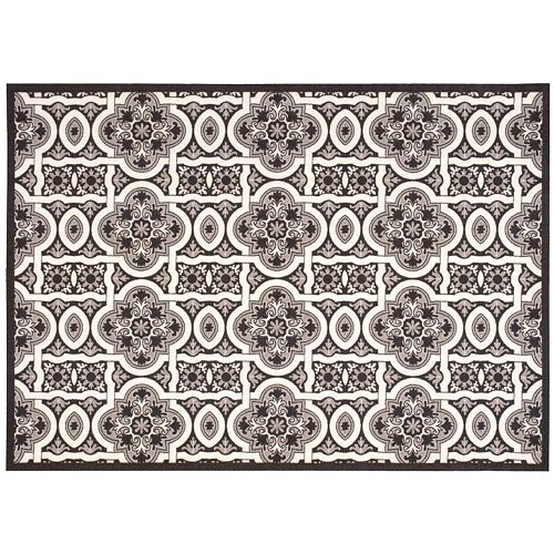 Nourison Home & Garden Rio Medallion Indoor Outdoor Rug - 5'3'' x 7'5''
