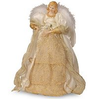 National Tree Company 16-in. Ivory Angel Christmas Tree Topper