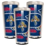 Florida Panthers 3 pc Shot Glass Set