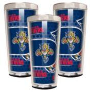 Florida Panthers 3-Piece Shot Glass Set