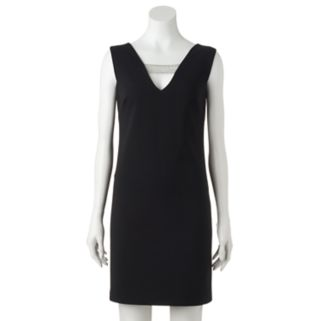 Women's DR by Donna Ricco Embellished Shift Dress