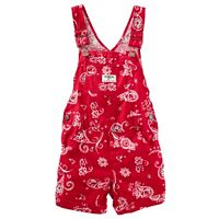 Toddler Girl OshKosh B'gosh® Bandana Cuffed Shortalls