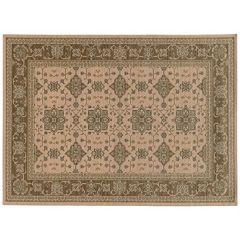 StyleHaven Faulkner Traditional Framed Floral Wool Rug