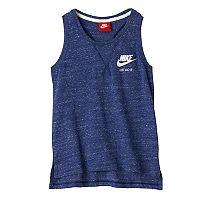 Girls 7-16 Nike Vented Hem Nep Racerback Tank Top
