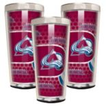 Colorado Avalanche 3 pc Shot Glass Set