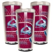 Colorado Avalanche 3-Piece Shot Glass Set