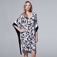 Women's Simply Vera Vera Wang Whisper Garden Caftan Dress