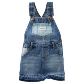 Toddler Girl OshKosh B'gosh® Distressed Denim Jumper