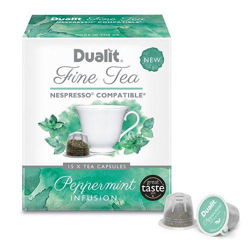 Dualit Fine Tea Peppermint Infusion Capsules - 90-pk.