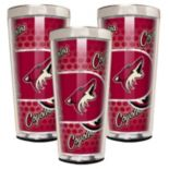 Arizona Coyotes 3 pc Shot Glass Set