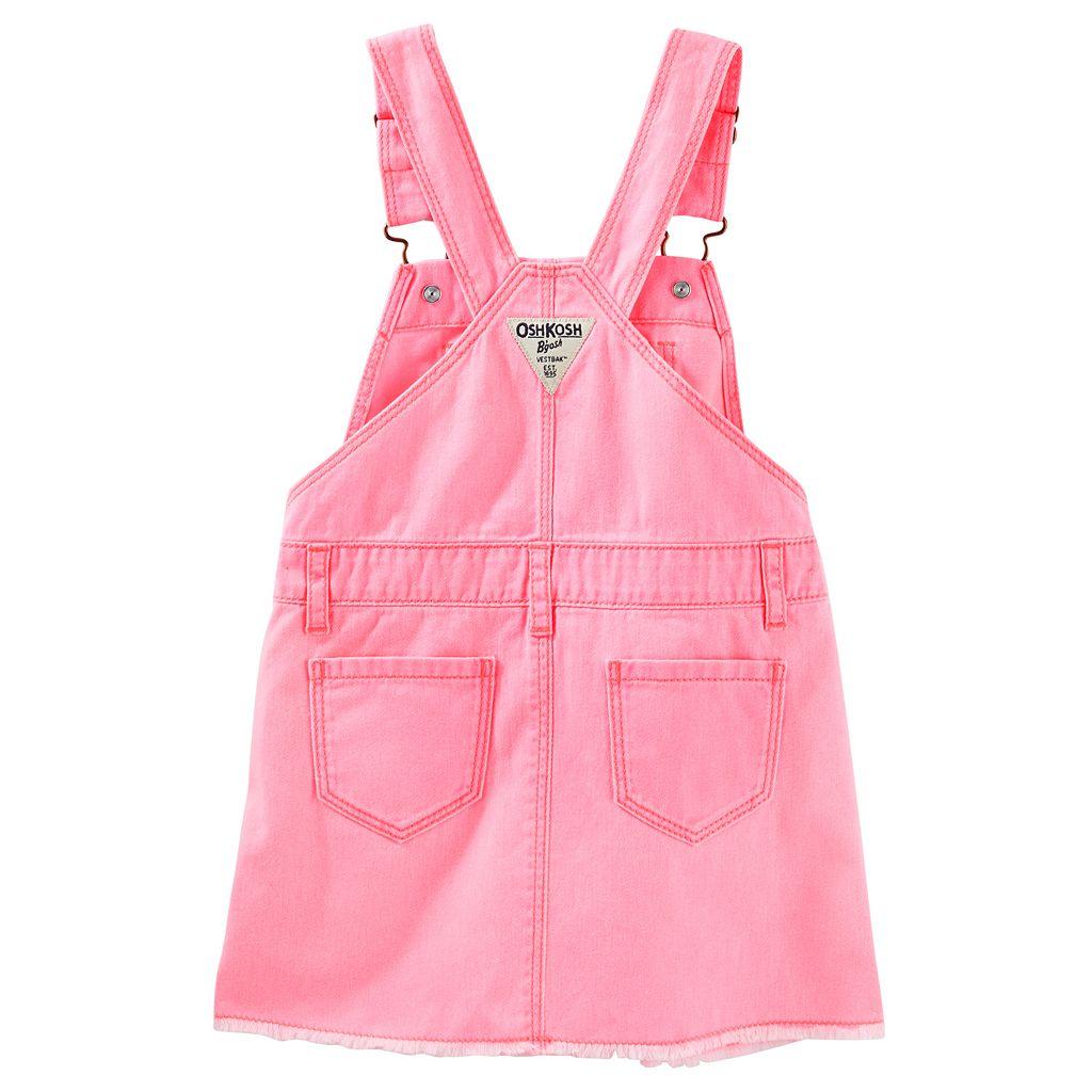 Toddler Girl OshKosh B'gosh® Frayed Twill Jumper