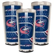 Columbus Blue Jackets 3 pc Shot Glass Set