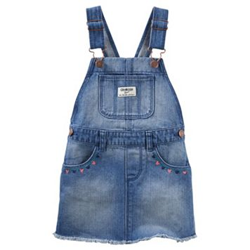 Toddler Girl OshKosh B'gosh® Frayed Denim Jumper