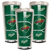 Minnesota Wild 3 pc Shot Glass Set