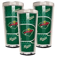Minnesota Wild 3-Piece Shot Glass Set