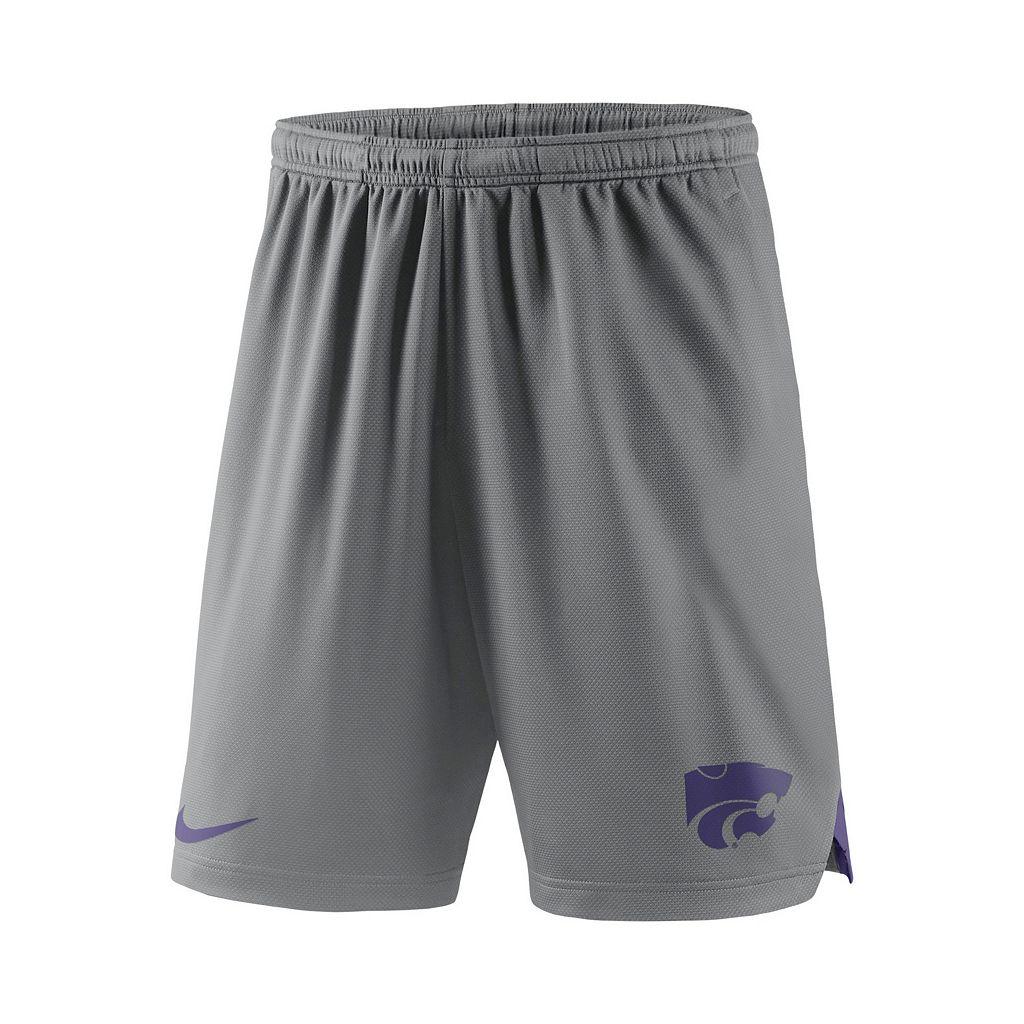 Men's Nike Kansas State Wildcats Football Dri-FIT Shorts
