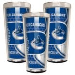 Vancouver Canucks 3 pc Shot Glass Set