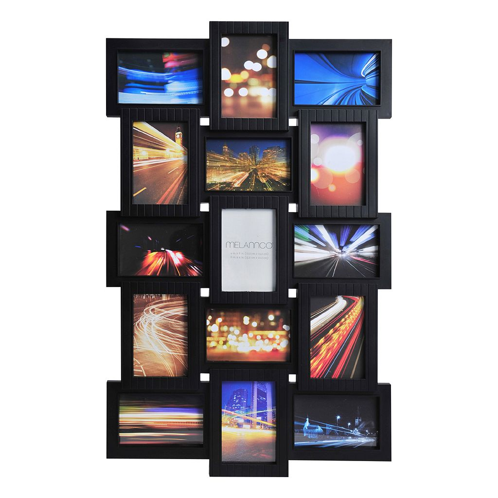 Melannco 15-Opening Photo Collage Frame