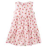 Toddler Girl OshKosh B'gosh® Strawberry Tiered Dress