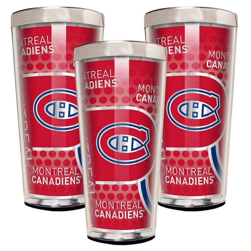 Montreal Canadiens 3-Piece Shot Glass Set