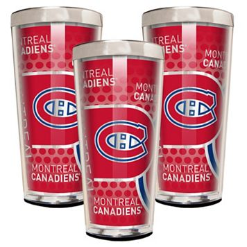 Montreal Canadiens 3-Piece Shot Glass Set