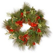 National Tree Company 27 in Artificial Evergreen Christmas Wreath