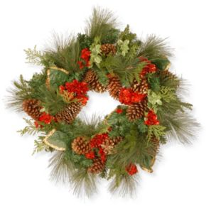 National Tree Company 27-in. Artificial Evergreen Christmas Wreath