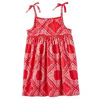 Toddler Girl OshKosh B'gosh® Print Empire Dress