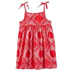 Toddler Girl OshKosh B'gosh® Print Empire Dress