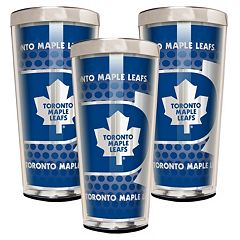 Toronto Maple Leafs 3 pc Shot Glass Set
