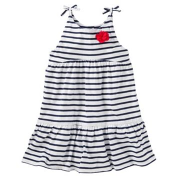 Toddler Girl OshKosh B'gosh® Striped Tiered Dress