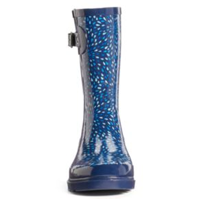 Western Chief Women's Graphic Print Water-Resistant Rain Boots