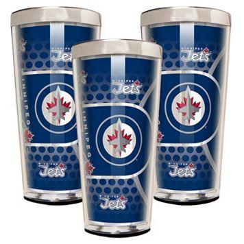 Winnipeg Jets 3-Piece Shot Glass Set