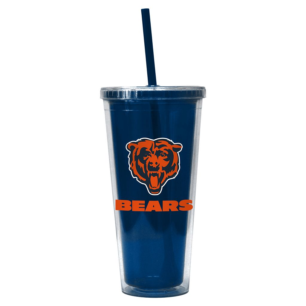 Boelter Brands Chicago Bears Straw Tumbler