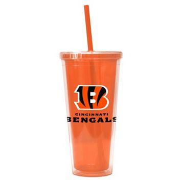 Boelter Brands Cincinnati Bengals Straw Tumbler