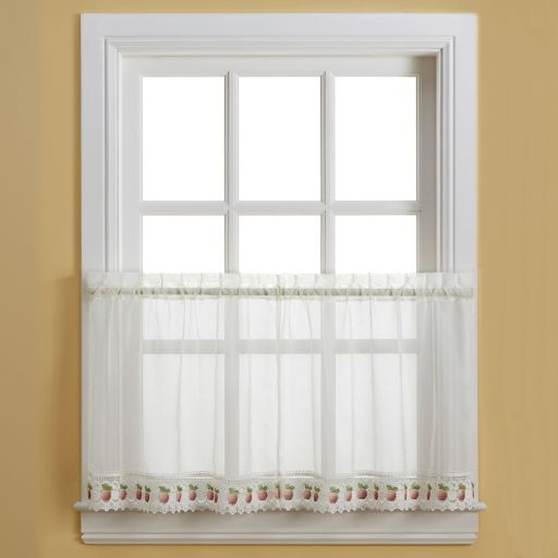 Apple Orchard Tier Curtains